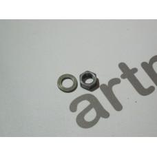 Гайка+шайба переднего вариатора Honda Dio AF56/57