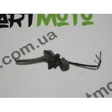 Крепление зеркала+тормозная ручка левая Honda Dio/Tact