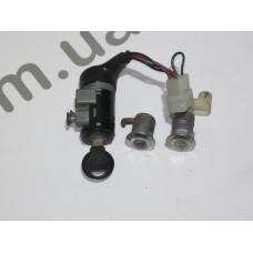 Замки (комплект) не оригинальный ключ Honda Dio AF27/28